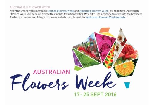 Australian Flowers Week