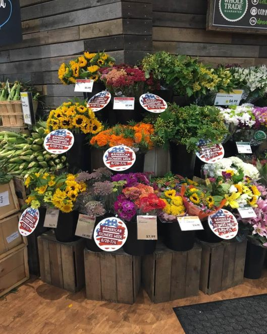 Whole Foods Floral Display