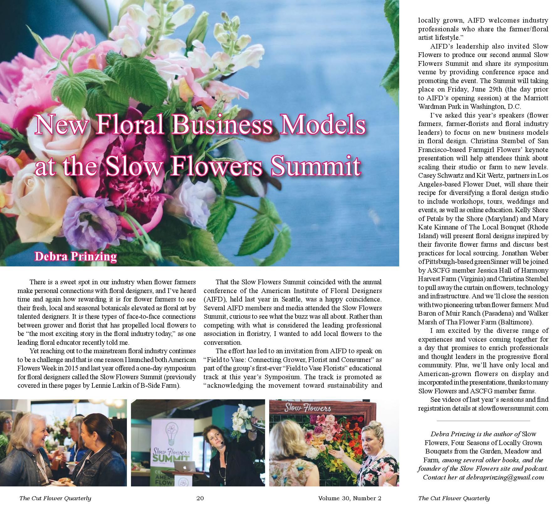 American flowers week june 28 to july 4 2019 celebrating note this article appears in the spring 2018 issue of cut flower quarterly the publication of association of specialty cut flower growers mightylinksfo